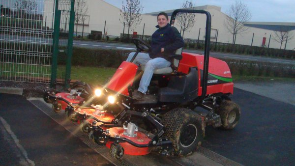 Tracteur Tondeuse !!
