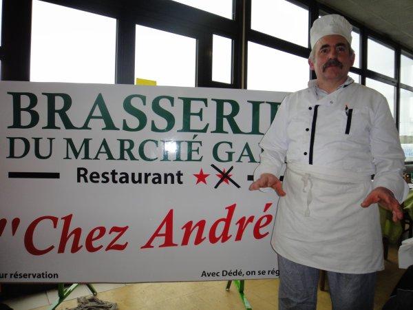 Un repas Exceptionnel chez Dédé Marché gare Montauban !!