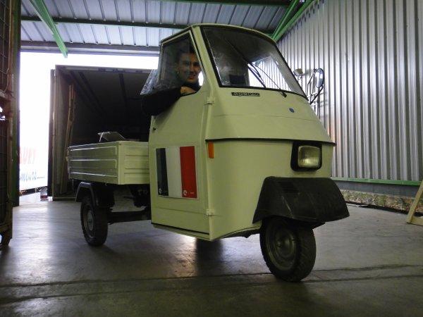 nouveau véhicule pour livrer le primeurs à Lille