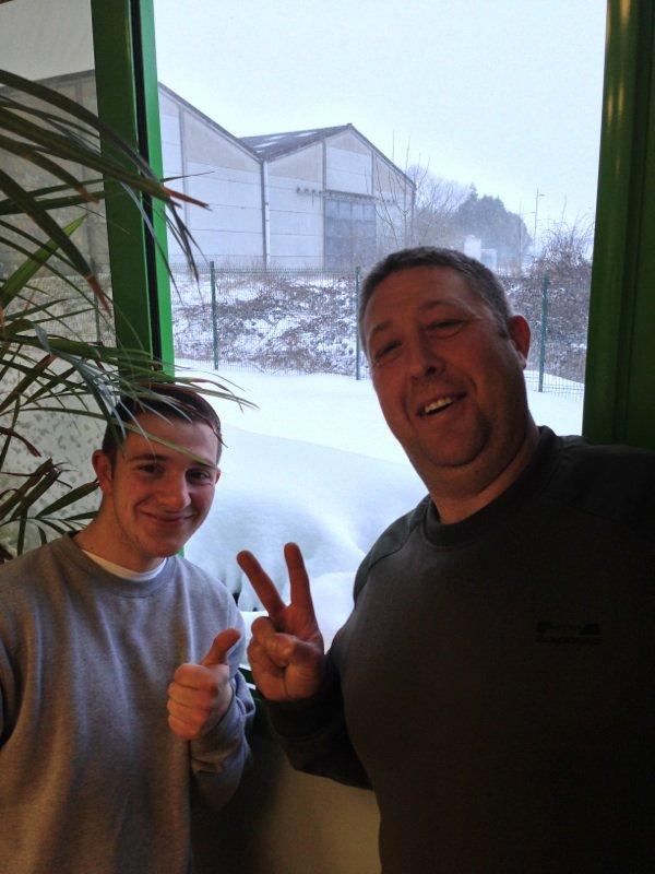 Tempête de neige sur Bapaume : mars 2013