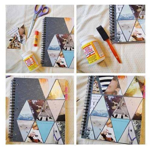 {Do It Yourself} Cahier décoré #3