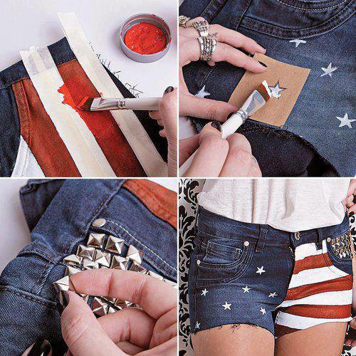 {Do It Yourself} Customisation d'un short