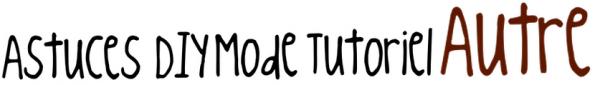 Tag : Me connaitre de A à Z + Tag bonus ♥