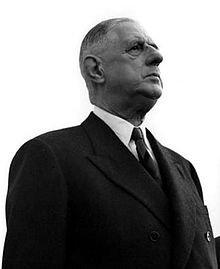 Veme République,   Charles de Gaulle