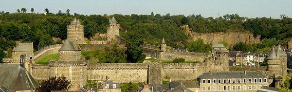 Les châteaux forts _ Château de Fougères