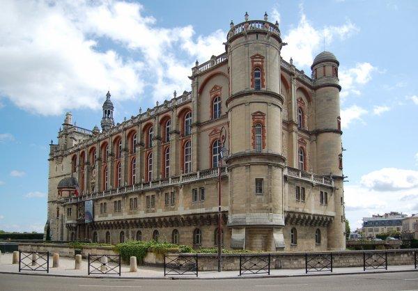 Principales Demeures des rois de France__château de St Germain en Laye