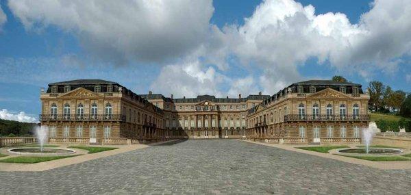 Principales Demeures des rois de France_château de St Cloud