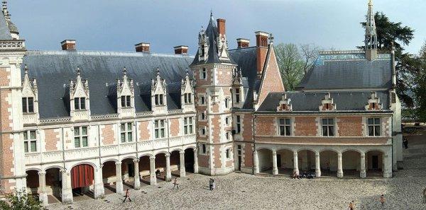 Principales Demeures des rois de France_château de Blois