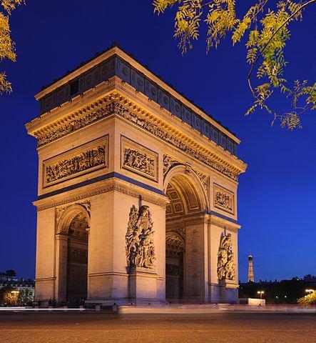 Les monuments de Paris _ _  l'Arc de Triomphe