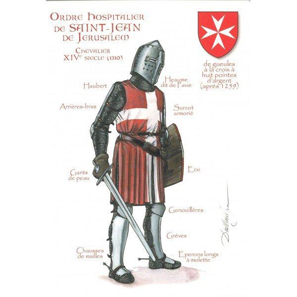 Ordre Militaire et Religieux _ _ Ordres hospitaliers des croisades