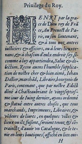Les Édits _ _ Édit de Châteaubriant