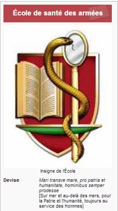 Ecoles Militaires _ _ École de santé des armées