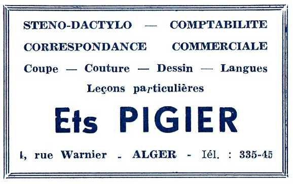 Publicité _ _ Pigier