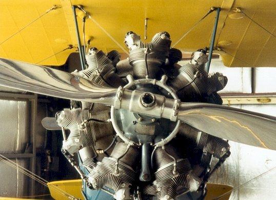 Pilotes et Aviation _ _ Moteur en étoile