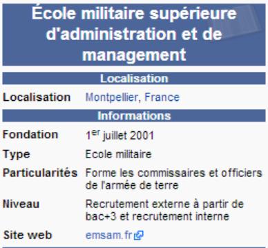 Ecoles Militaires _ _ École militaire supérieure d'administration et de management