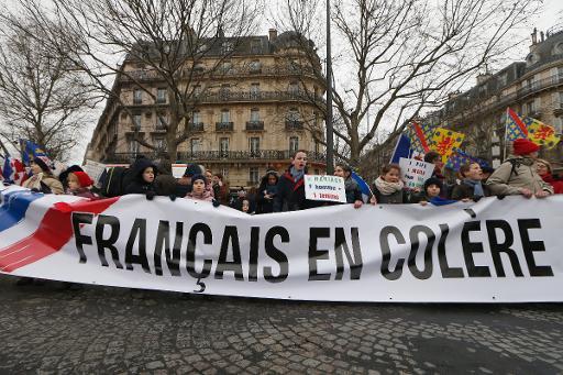 La FRANCE et la COLERE !!!