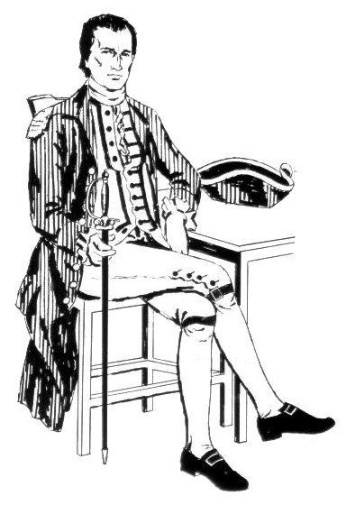 Histoire du costume _ _ Hauts-de-chausses, Chausses et Pourpoint