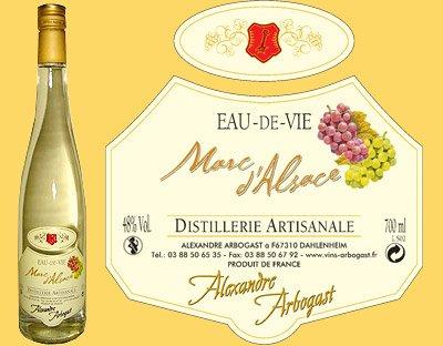 Boissons du monde _ _ Marc d'Alsace