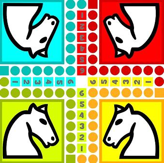 Jeu des petits chevaux