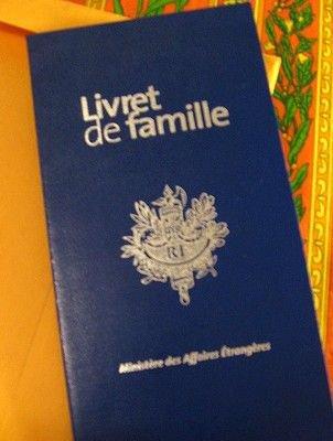Duplicata en cas de perte, vol ou détérioration du livret de famille