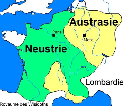 Anciennes Provinces _ _ Neustrie