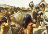 Chasse pratiquée par les premiers hommes