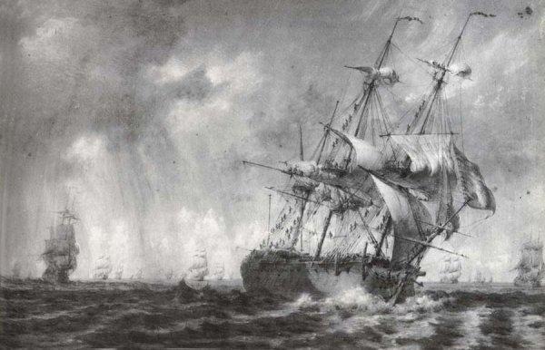 Navires d'autrefois _ _ Vaisseau de 74 canons