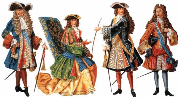 Costume au xviiie siècle