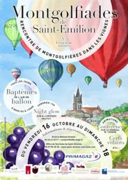 Les Montgolfiades de Saint Emilion 2015