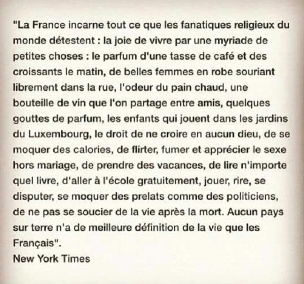 La France c'est ça aussi ...