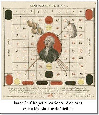 1791 _ Loi Le Chapelier