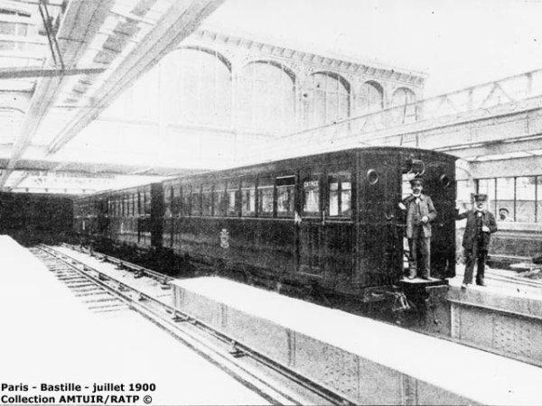 Ca s'est passé le 19 juillet 1900 : Inauguration du métro de Paris