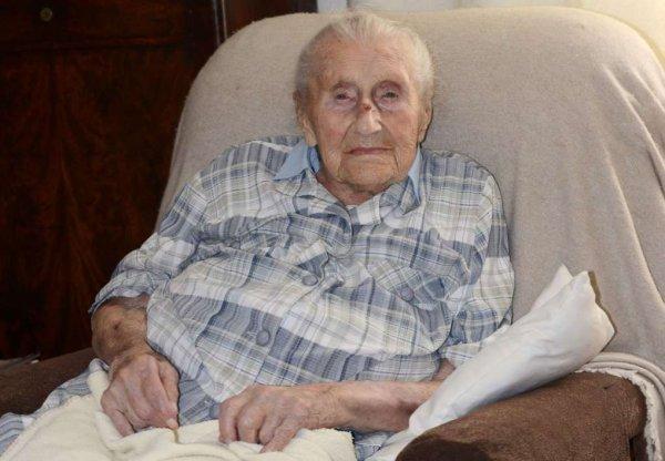 La doyenne des Français est morte à l'âge de 113 ans