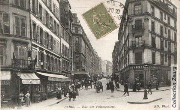 Paris _ Chemin des Poissonniers