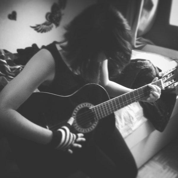 La guitare c'est ma vie..
