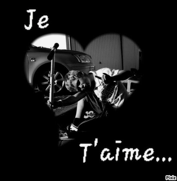 Lamour c'est cool cheire je t'aime !!!