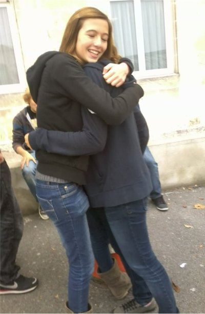 Orlane et Léa. ♥