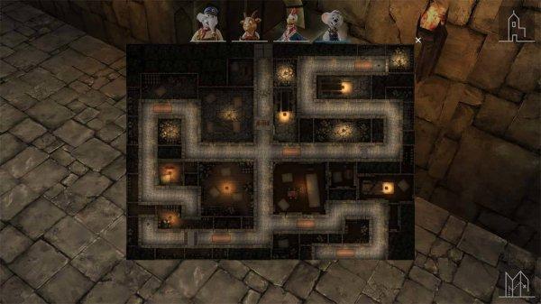 Le labyrinthe mystérieux du Château Balthasar