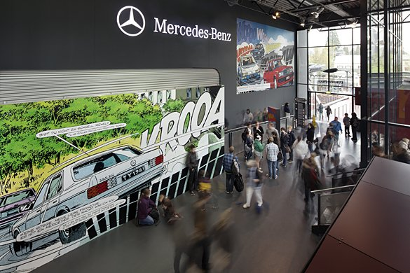 Hall Mercedes-Benz