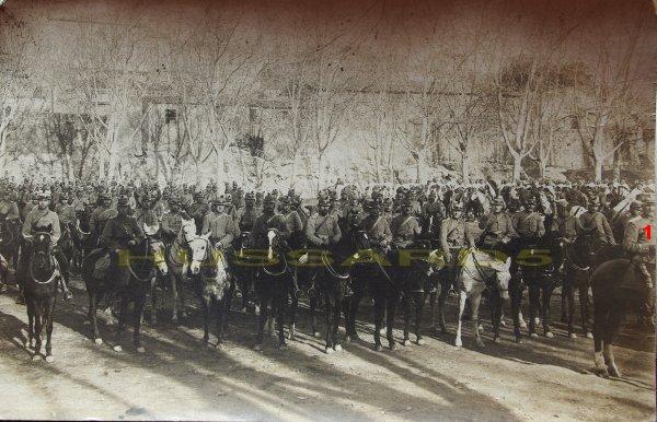 ESCADRON DU 11E HUSSARDS (FRANCE, AOÛT 1914)