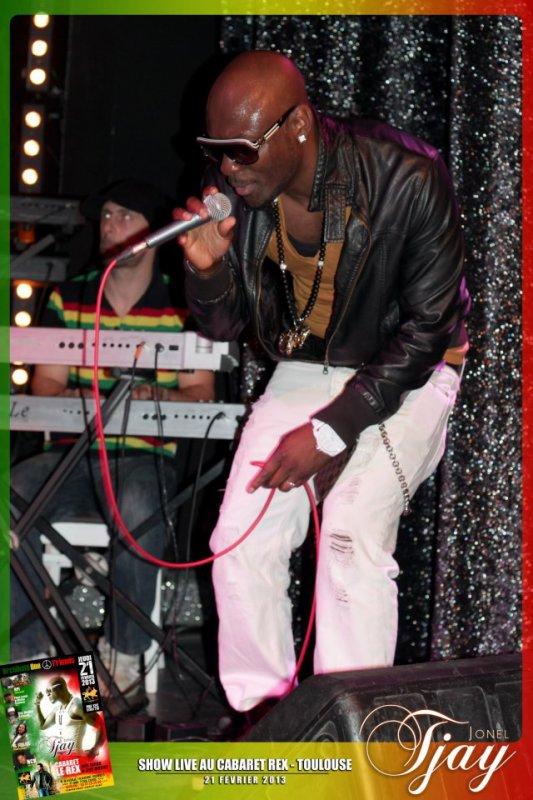 Concert  deJonel Tjay au Rex à Toulouse