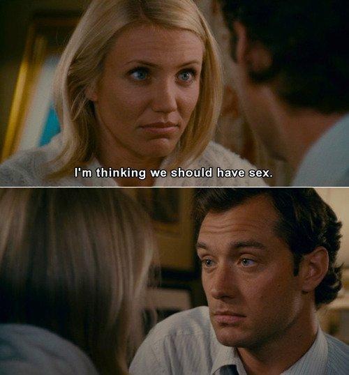 - Il n'y a aucun danger, je ne tomberai pas amoureuse, j'te le promets. - Bien envoyé. Ça fait toujours plaisir.