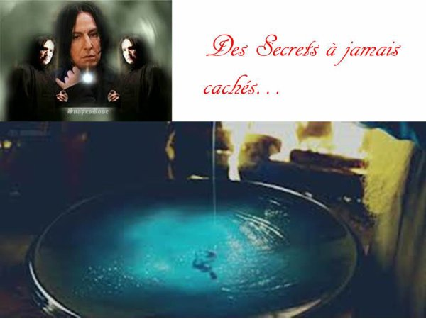 Des Secrets à jamais cachés...