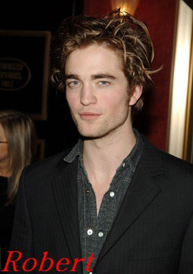 edward robert pattinson
