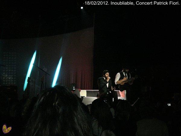 Concert Patrick Fiori à Nice