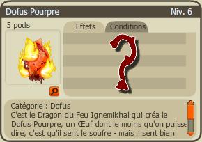 Items 2.6 / Dofus Pourpre / Jeu / Farm
