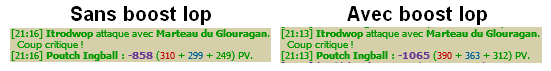 Utilité des Iop en PVM
