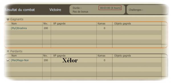 Captures glours / Commandes / Serveur tournoi