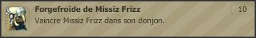 Forgefroide de Missiz Frizz