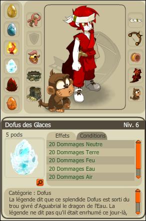 Dofus des Glaces / Score Imposant ( 8000 points )